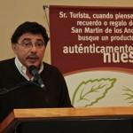 Raul Pont Lezica  Subsecretario de Turismo y Desarrollo Economico de S.M. de los Andes comentando lineamientos con los que se seguirá  trab