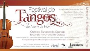 invitación tango